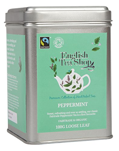English Tea Shop - Pfefferminze, BIO Fairtrade, Loser Tee, 100g Dose